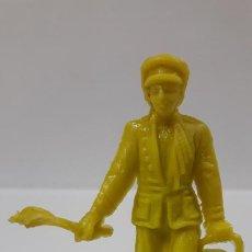 Figuras de Goma y PVC: TRABAJADOR DEL CIRCO . REALIZADO POR JECSAN . AÑOS 60 / 70 EN PLASTICO MONOCOLOR. Lote 194617842