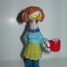 Figuras de Goma y PVC: ANTIGUA FIGURA DE PVC - LUCILLE - DE SHOE DE JEFF MCNELLY - COMICS SPAIN AÑOS 80 -. Lote 194635081