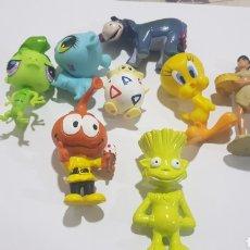 Figuras de Goma y PVC: LOTE 8 FIGURAS GOMA/PVC VARIAS MARCAS Y AÑOS. Lote 194639391