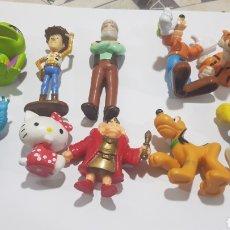 Figuras de Goma y PVC: LOTE 10 FIGURAS GOMA/PVC VARIAS MARCAS Y AÑOS. Lote 194639582