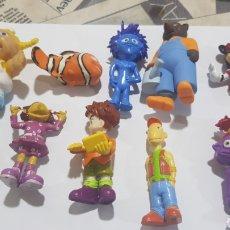 Figuras de Goma y PVC: LOTE 10 FIGURAS GOMA/PVC VARIAS MARCAS Y AÑOS. Lote 194639687