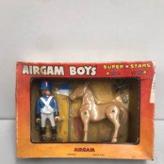 Figuras de Goma y PVC: ANTIGUO BLISTER AIRGAMBOYS AIRGAM BOYS. Lote 194639841