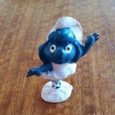 Figuras de Goma y PVC: PITUFO PITUFINA. Lote 194703332