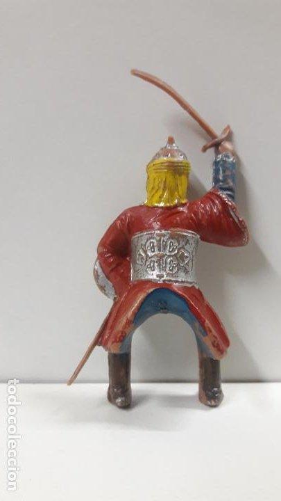 Figuras de Goma y PVC: GUERRERO ARABE - SARRACENO PARA CABALLO . FIGURA REAMSA Nº 287 . SERIE BEN YUSUF . AÑOS 60 - Foto 2 - 194724011