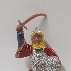 Figuras de Goma y PVC: GUERRERO ARABE - SARRACENO PARA CABALLO . FIGURA REAMSA Nº 287 . SERIE BEN YUSUF . AÑOS 60. Lote 194724011