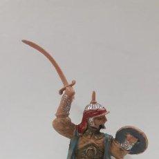 Figuras de Goma y PVC: GUERRERO ARABE - SARRACENO PARA CABALLO . FIGURA REAMSA Nº 296 . SERIE BEN YUSUF . AÑOS 60. Lote 194724285