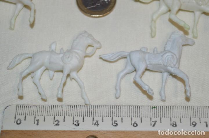 Figuras de Goma y PVC: Lote OESTE - Montón CABALLOS variados, Plástico/PVC - COMANSI, OLIVER, PUIG, PECH, JECSAN ... - Foto 12 - 194725448