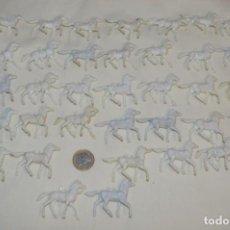 Figuras de Goma y PVC: LOTE OESTE - MONTÓN CABALLOS VARIADOS, PLÁSTICO/PVC - COMANSI, OLIVER, PUIG, PECH, JECSAN .... Lote 194725448