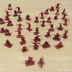 Figuras de Goma y PVC: LOTE DE 41 SOLDADITOS DE YUGOSLAVIA - COMANDOS DE ATAQUE - II GUERRA MUNDIAL - MONTAPLEX Nº 144. Lote 194730680