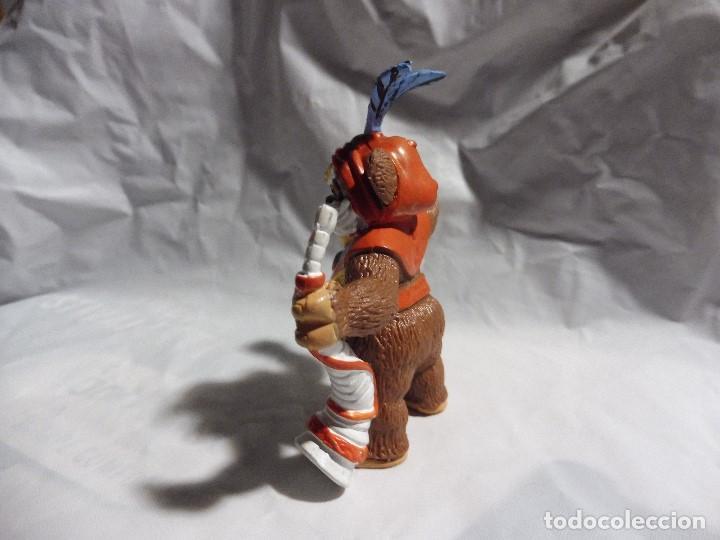 Figuras de Goma y PVC: Figura goma pvc Comics Spain Star Wars ewok ewoks Paploo Lucas Film, 86 - Foto 4 - 194732133
