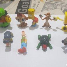 Figuras de Goma y PVC: LOTE 10 FIGURAS GOMA/PVC VARIAS MARCAS Y AÑOS. Lote 194743142
