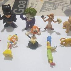 Figuras de Goma y PVC: LOTE 10 FIGURAS GOMA/PVC VARIAS MARCAS Y AÑOS. Lote 194743177