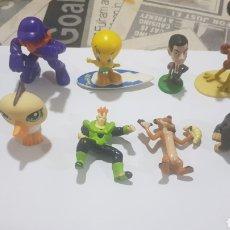Figuras de Goma y PVC: LOTE 10 FIGURAS GOMA/PVC VARIAS MARCAS Y AÑOS. Lote 194743206