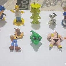 Figuras de Goma y PVC: LOTE 10 FIGURAS GOMA/PVC VARIAS MARCAS Y AÑOS. Lote 194743265