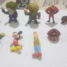 Figuras de Goma y PVC: LOTE 10 FIGURAS GOMA/PVC VARIAS MARCAS Y AÑOS. Lote 194743318