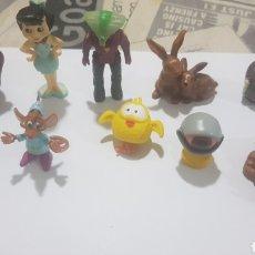 Figuras de Goma y PVC: LOTE 10 FIGURAS GOMA/PVC VARIAS MARCAS Y AÑOS. Lote 194743432