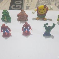 Figuras de Goma y PVC: LOTE 10 FIGURAS GOMA/PVC VARIAS MARCAS Y AÑOS. Lote 194743483