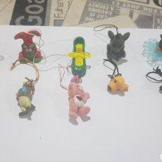 Figuras de Goma y PVC: LOTE 10 FIGURAS GOMA/PVC VARIAS MARCAS Y AÑOS. Lote 194743647