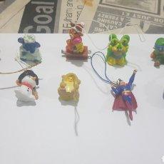 Figuras de Goma y PVC: LOTE 10 FIGURAS GOMA/PVC VARIAS MARCAS Y AÑOS. Lote 194743702
