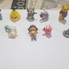 Figuras de Goma y PVC: LOTE 10 FIGURAS GOMA/PVC VARIAS MARCAS Y AÑOS. Lote 194743831