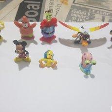 Figuras de Goma y PVC: LOTE 10 FIGURAS GOMA/PVC VARIAS MARCAS Y AÑOS. Lote 194743858