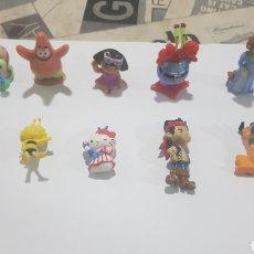 Figuras de Goma y PVC: LOTE 10 FIGURAS GOMA/PVC VARIAS MARCAS Y AÑOS. Lote 194743906