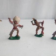 Figuras de Goma y PVC: LOTE 4 FIGURAS REAMSA, COMANSI, PECH, LAFREDO, JECSAN. ESTAN ALGUNAS ROTAS.. Lote 194752826
