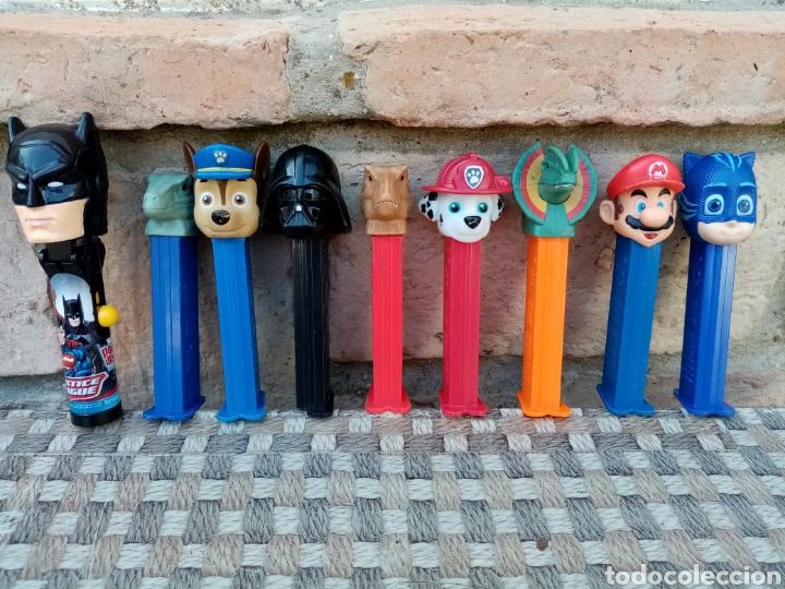 DISPENSADORES PEZ DE CARAMELOS (Juguetes - Figuras de Gomas y Pvc - Dispensador Pez)