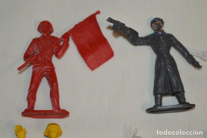 Figuras de Goma y PVC: Lote de COMANSI - Figuras variadas / SOLDADOS e INDIOS - ¡Mirar fotos y detalles! - Foto 3 - 194775692
