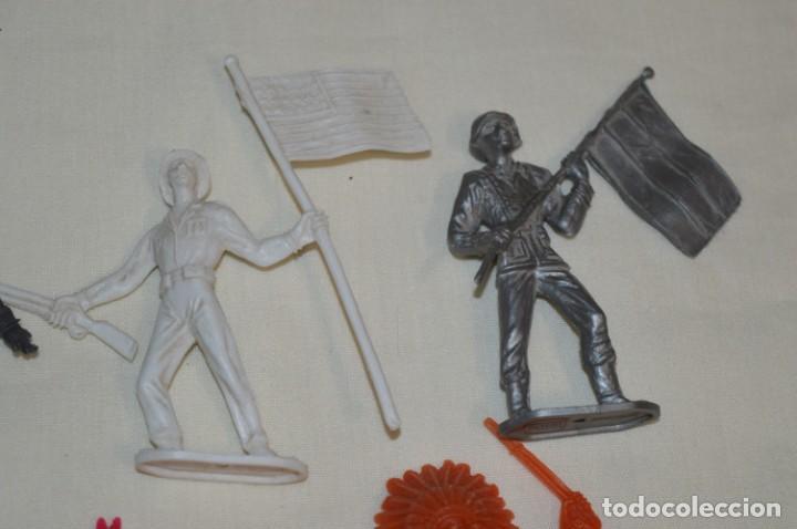 Figuras de Goma y PVC: Lote de COMANSI - Figuras variadas / SOLDADOS e INDIOS - ¡Mirar fotos y detalles! - Foto 4 - 194775692