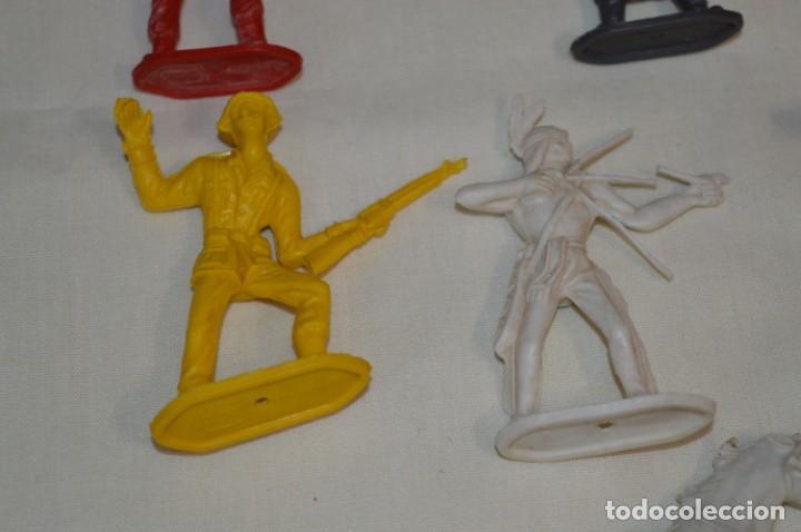 Figuras de Goma y PVC: Lote de COMANSI - Figuras variadas / SOLDADOS e INDIOS - ¡Mirar fotos y detalles! - Foto 5 - 194775692