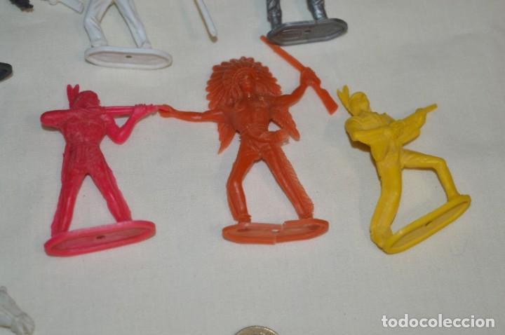 Figuras de Goma y PVC: Lote de COMANSI - Figuras variadas / SOLDADOS e INDIOS - ¡Mirar fotos y detalles! - Foto 6 - 194775692