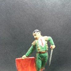 Figuras de Goma y PVC: FIGURA DE TORERO JECSAN. AÑOS 50. Lote 194781735