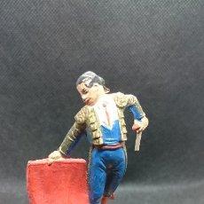 Figuras de Goma y PVC: FIGURA DE TORERO JECSAN. AÑOS 50. Lote 194782117