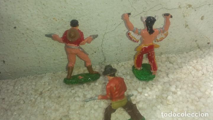 Figuras de Goma y PVC: Indios y cawboy de reamsa - Foto 2 - 194783182