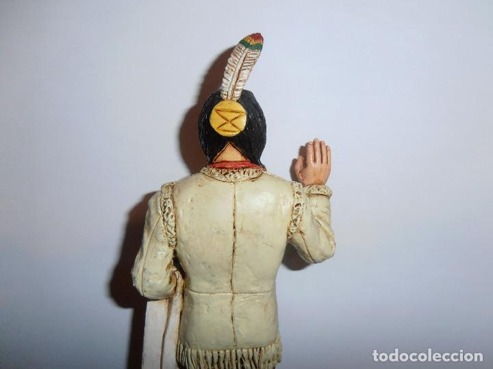 Figuras de Goma y PVC: FIGURA TORO SENTADO - SITTING BULL - HEROES OF THE WEST - COMANSI - Foto 8 - 194870987