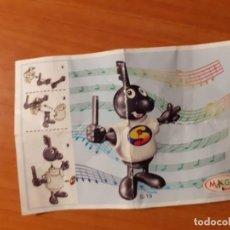 Figuras Kinder: BPZ KINDER PAPEL DE INSTRUCCIONES NPOTAS MUSICALES, S-19. Lote 194882448