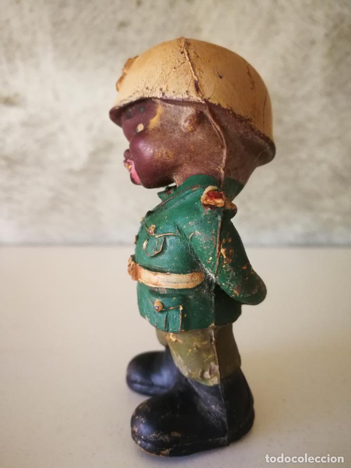 Figuras de Goma y PVC: ANTIGUO MUÑECO DE GOMA NEGRITO DE LA CRUZ ROJA AÑOS 60 - Foto 2 - 194887278