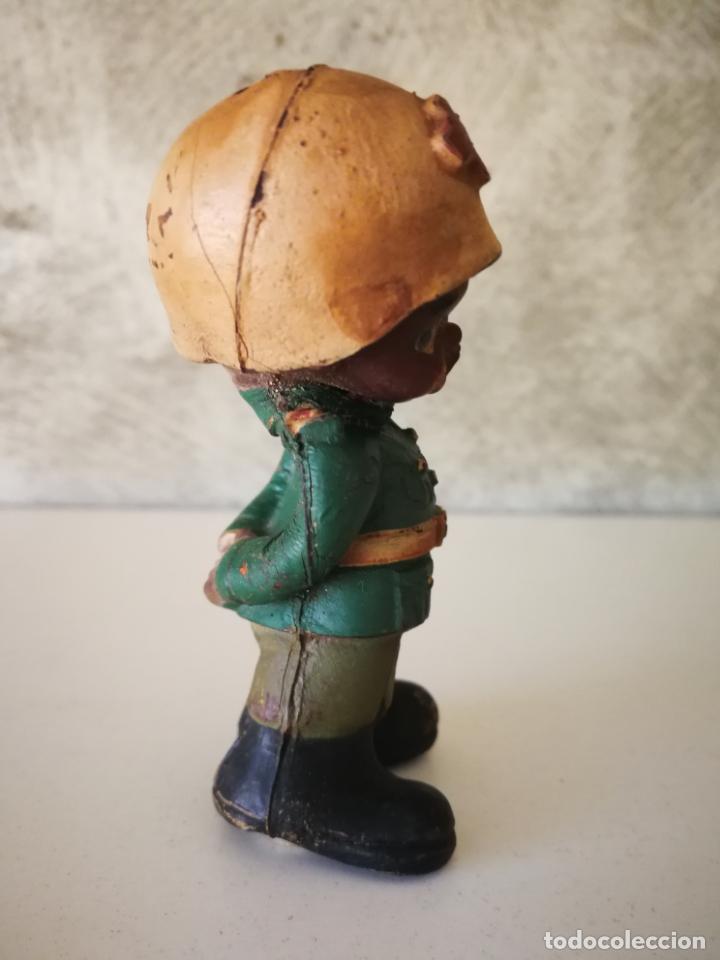 Figuras de Goma y PVC: ANTIGUO MUÑECO DE GOMA NEGRITO DE LA CRUZ ROJA AÑOS 60 - Foto 4 - 194887278