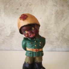 Figuras de Goma y PVC: ANTIGUO MUÑECO DE GOMA NEGRITO DE LA CRUZ ROJA AÑOS 60. Lote 194887278