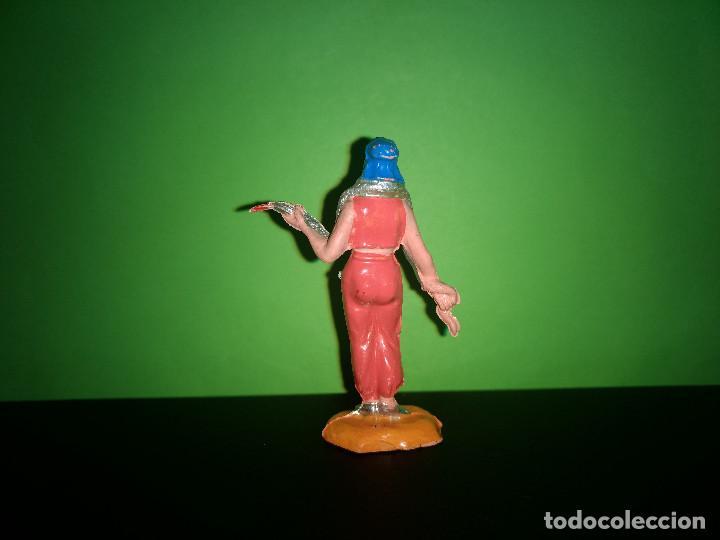 Figuras de Goma y PVC: FIGURA EN GOMA MUJER CON SERPIENTE CIRCO DIR DOR JECSAN AÑOS 60 MUY BUEN ESTADO - Foto 2 - 194892260