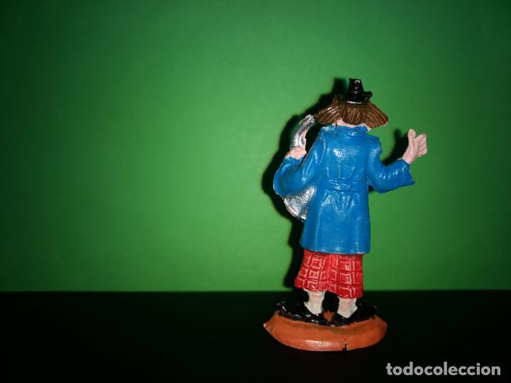 Figuras de Goma y PVC: FIGURA EN GOMA PAYASO MUSICO CIRCO DIR DOR JECSAN AÑOS 60 MUY BUEN ESTADO - Foto 2 - 194892732