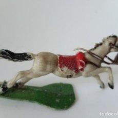 Figuras de Goma y PVC: FIGURA CABALLO TORRES MALTAS. Lote 194892895