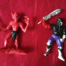 Figuras de Goma y PVC: DOS FIGURAS CHAP MEI UNA DEL 1994 DAMURAI Y LA OTRA 2013 DIABLO. Lote 194947646