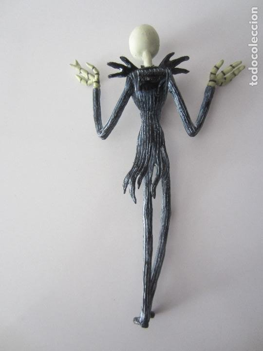 Figuras de Goma y PVC: FIGURA JACK SKELLINGTON PESADILLA ANTES DE NAVIDAD - Foto 2 - 194949370