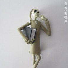 Figuras de Goma y PVC: FIGURA JACK SKELLINGTON-PIJAMA JACK- PESADILLA ANTES DE NAVIDAD. Lote 194949556