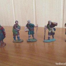 Figuras de Goma y PVC: LOTE 5 FIGURAS ANTIGUAS ( PECH , JECSAN , REAMSA , TEIXIDO , OLIVER , COMANSI , ETC). Lote 194949818
