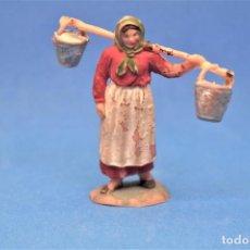Figuras de Goma y PVC: ANTIGUA FIGURA EN PLÁSTICO DE JECSAN. SERIE LA GRANJA. AÑOS 60. MADE IN SPAIN. Lote 194950190