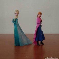 Figuras de Goma y PVC: FIGURAS ELSA Y ANNA DE FROZEN - DISNEY - BULLYLAND - VER FOTOS. Lote 194951688