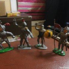 Figuras de Goma y PVC: 4 FIGURAS PECH REAMSA JECSAN. Lote 194951877